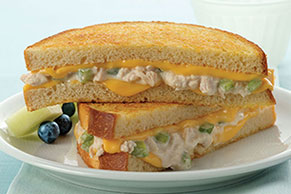 Cheesy Tuna Melt