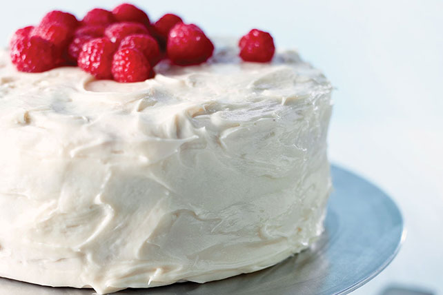 White Chocolate-Raspberry Cake Image 1