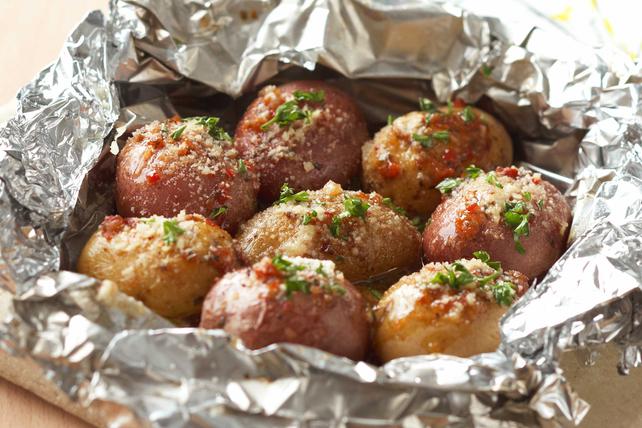 Pommes de terre nouvelles en papillote Image 1