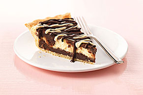 Cream Cheese-Brownie Pie Image 1