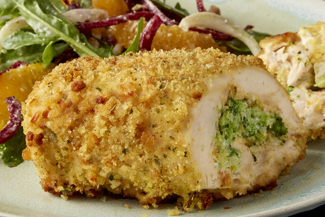 Cheddar Broccoli-Stuffed Chicken Image 1