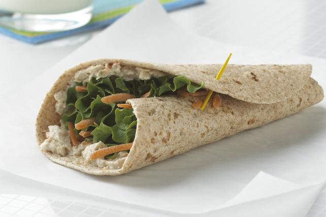Sandwich roulé au thon Image 1