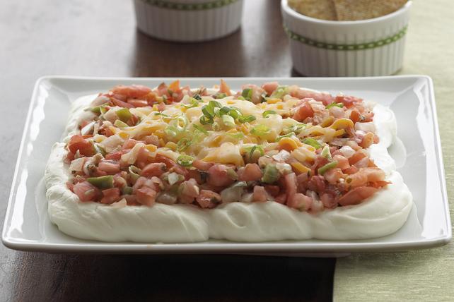 Trempette étagée au fromage à la crème et à la salsa Image 1
