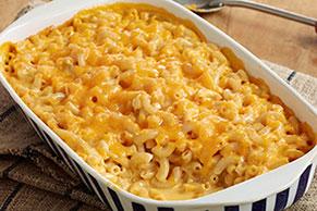 Súpercremoso horneado de macarrones con queso
