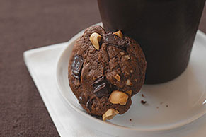 Chocolate Bliss Peanut Butter Cookies
