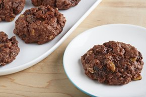 Chocolate Bliss Oatmeal Raisin Cookies