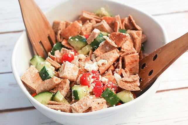 Garden Vegetable Pita Bread Salad Image 1