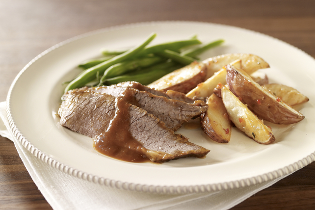 Braised Beef Brisket with Red Wine Sauce Image 1