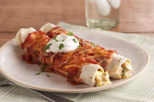 Enchiladas cremosas de pollo Image 1