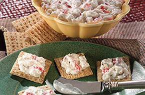Roasted Red Pepper And Feta Spread