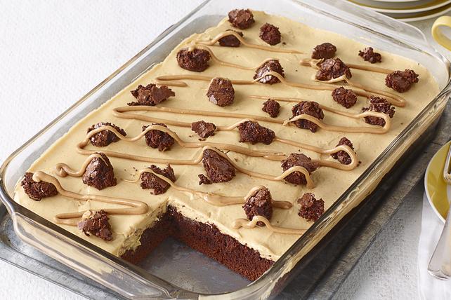 Dessert au beurre d'arachide et aux brownies Image 1