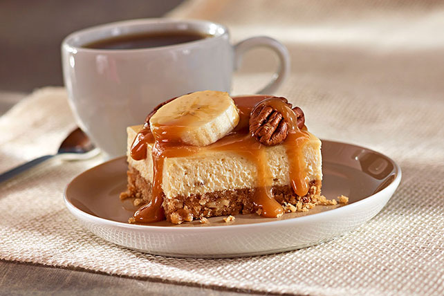 Bananas Foster Cheesecake Squares Image 1