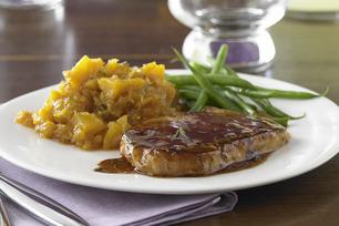 Maple & Rosemary Glazed Pork