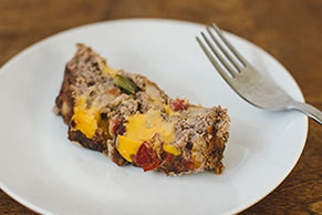 VELVEETA® Cheesy Southwest Meatloaf