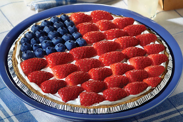 American Berry No-Bake Cheesecake Image 1