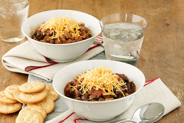 Three-Bean Turkey Chili Image 1
