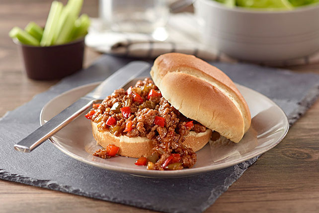 Easy Barbecued Sloppy Joes