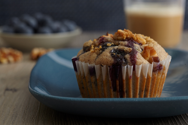 Blueberry Muffins Recipe Image 1