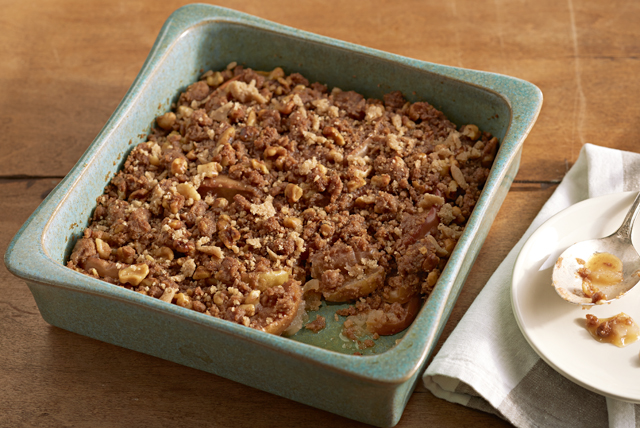 Apple Crisp Recipe (without oats) - YouTube