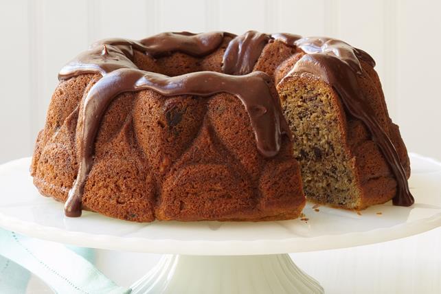 Gâteau aux bananes et au chocolat Image 1