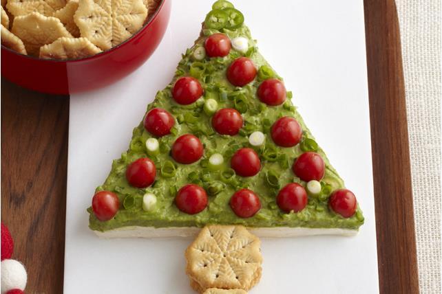 Arbre de Noël en guacamole Image 1