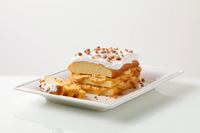 Banana-Caramel Toffee Cake Image 1