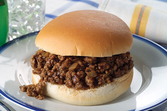 Homemade Sloppy Joes Image 1