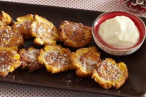 Tostones con mayonesa al ajo