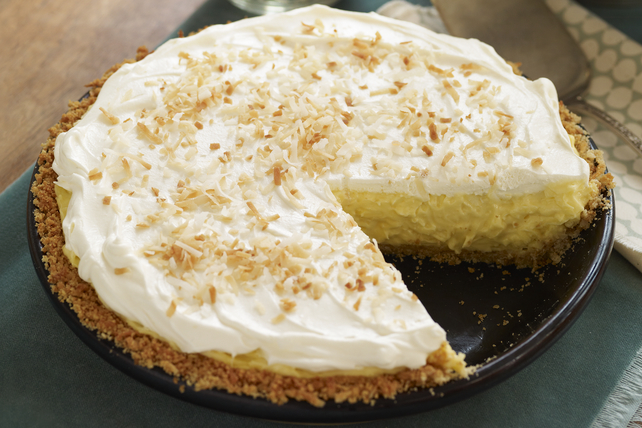 Coconut-Cream Cheese Pie Image 1