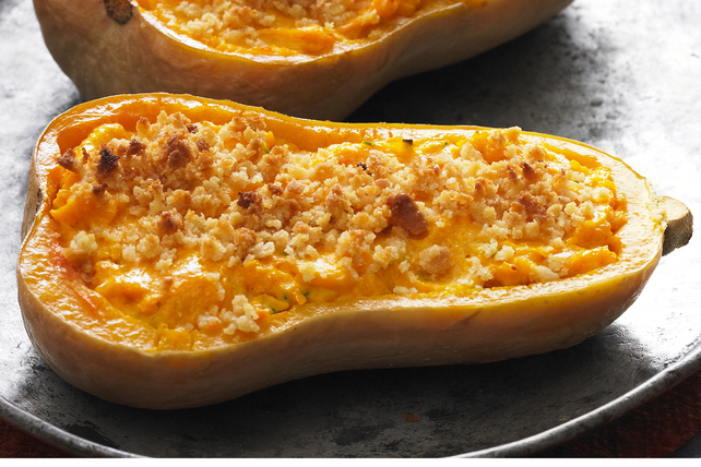 Cheesy Stuffed Butternut Squash Image 1
