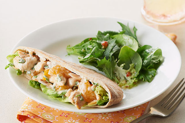 Citrus-Chicken Salad Pita Pockets Image 1