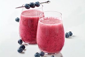 Blueberry-Lemon Smoothie