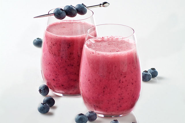 Blueberry-Lemon Smoothie - Kraft Recipes