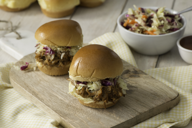 Carolina-Style BBQ Pulled Pork Sliders Image 1