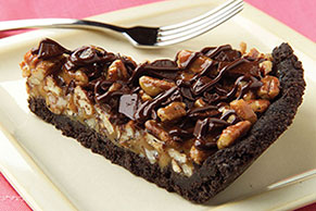 Chocolate Chunk-Caramel Pie