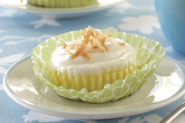 Coconut Cream Mini Cheesecakes Image 1