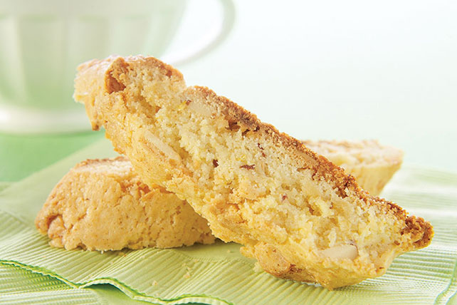 Lemony White Chocolate Chunk Biscotti