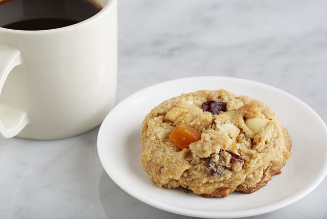 Apricot & Cranberry White Chocolate Chunk Cookies Image 1