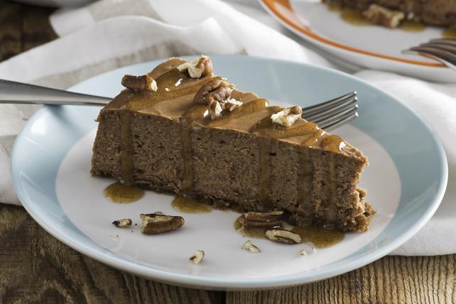 Chocolate-Cardamom Cheesecake Image 1