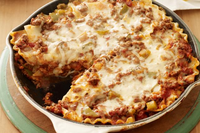 Saucy Skillet Lasagna Image 1