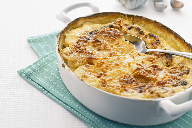 Savoury Garlic Scalloped Potatoes Image 1