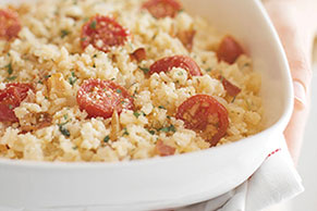 Italian Bacon and Tomato Risotto