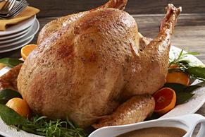 Dijon-Herb Basted Turkey