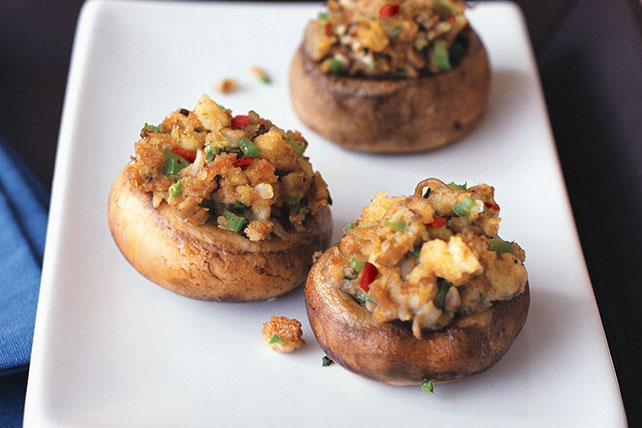 Easy Stuffed Mushrooms Image 1