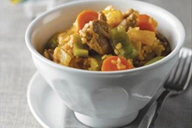Caribbean Pork 'N Rice Image 1