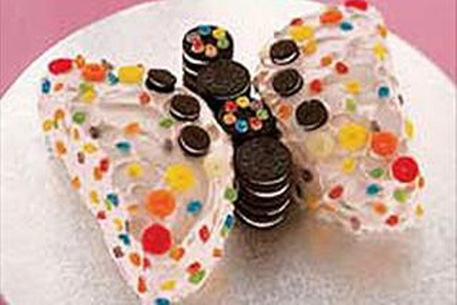 Beautiful Butterfly Cake