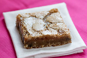 Caramel Swirl Blondies