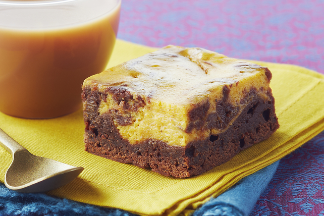 Mango Cheesecake Brownies Image 1