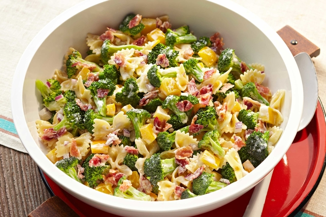 Tangy Broccoli-Pasta Salad Image 1