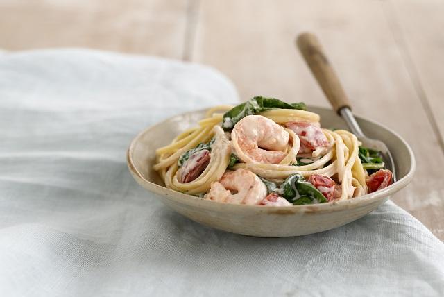 Shrimp In Love Pasta Image 1